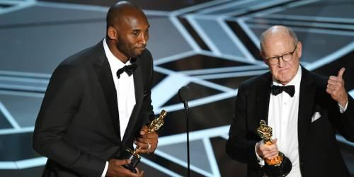 Kobe Bryant agli Oscar 2018: foto 10