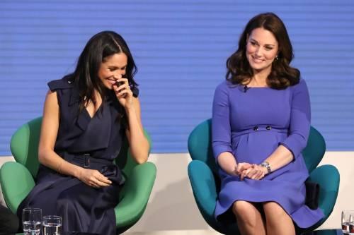 Kate Middleton e Meghan Markle 4