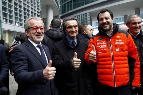 """Salvini a  Forza Italia """"Per i posti in giunta  contano i voti presi"""""""