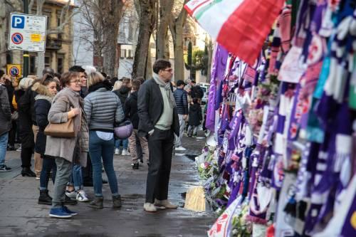 L'ultimo saluto ad Astori: i tifosi della Fiorentina in massa a Coverciano 12