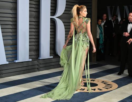 Paris Jackson seducente agli Oscar 2018 13