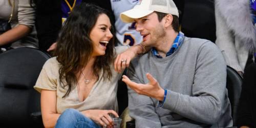Ashton Kutcher e Mila Kunis sexy insieme 5