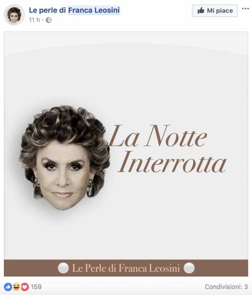 Franca Leosini, social in delirio per lei 7