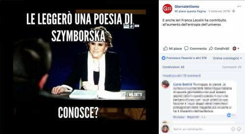 Franca Leosini, social in delirio per lei 10