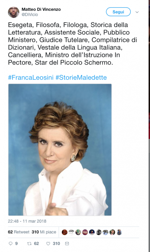 Franca Leosini, social in delirio per lei 3