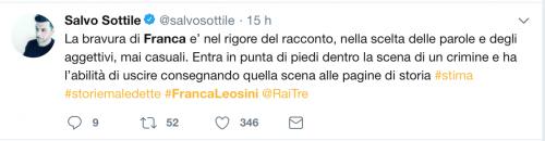 Franca Leosini, social in delirio per lei 6