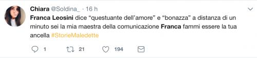 Franca Leosini, social in delirio per lei 5