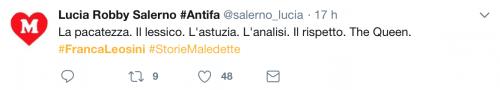 Franca Leosini, social in delirio per lei 13