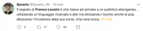 Franca Leosini, social in delirio per lei 17