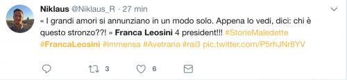 Franca Leosini, social in delirio per lei 19