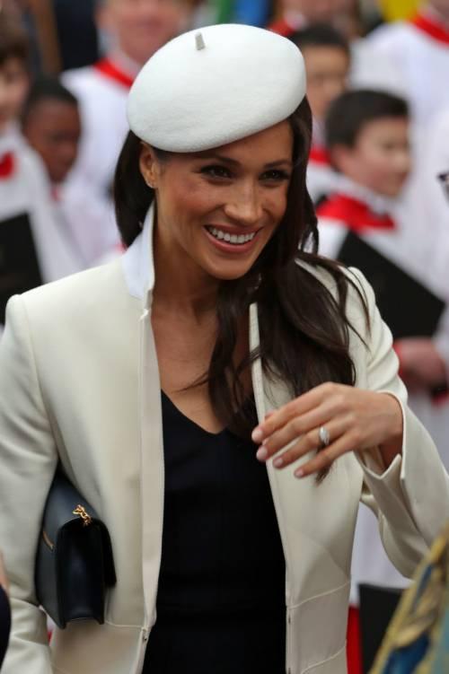 Meghan Markle, elegante per il Commonwealth 3
