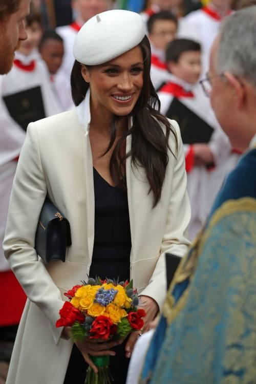 Meghan Markle, elegante per il Commonwealth 7