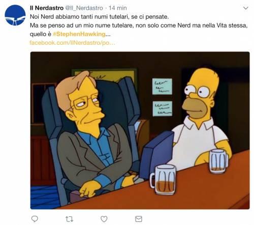 Stephen Hawking, le reazioni social sulla morte 4