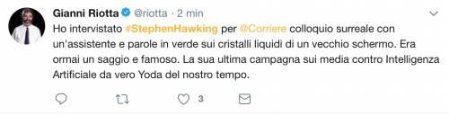 Stephen Hawking, le reazioni social sulla morte 10