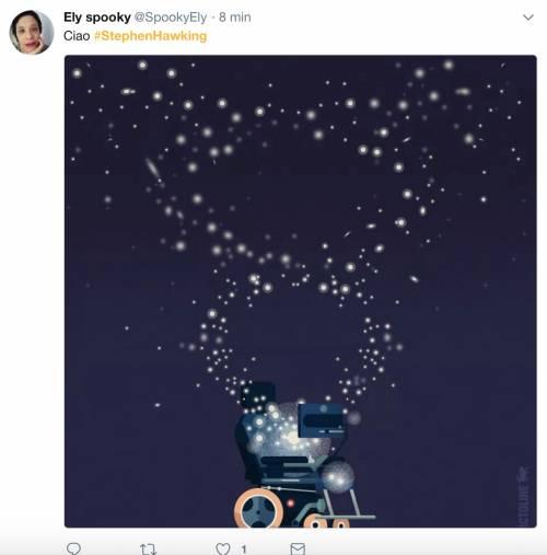 Stephen Hawking, le reazioni social sulla morte 2