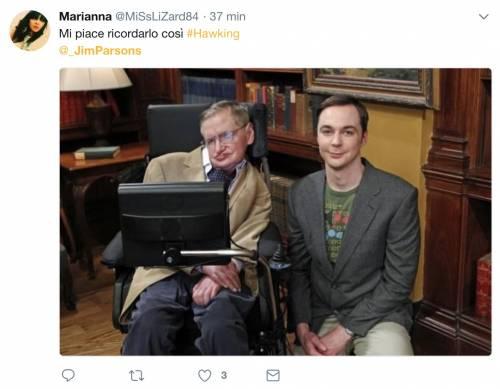 Stephen Hawking, le reazioni social sulla morte 3