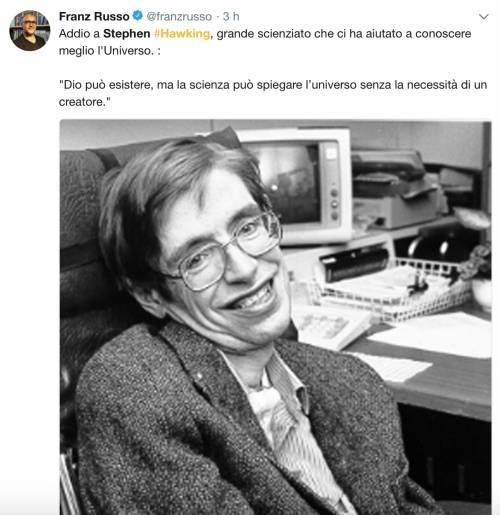 Stephen Hawking, le reazioni social sulla morte 13