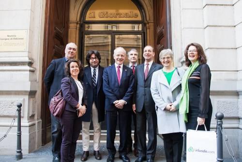 La Repubblica d'Irlanda in visita al Giornale 2
