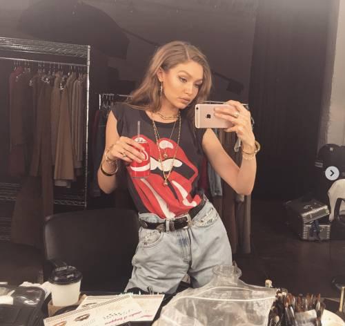 Gigi Hadid, immagini sexy