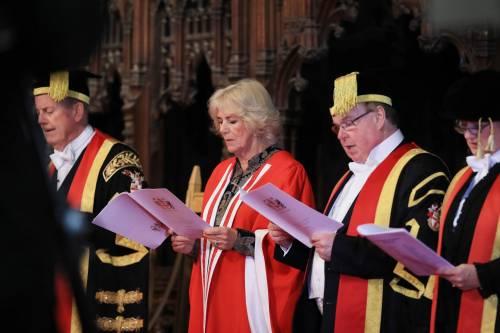 Camilla Parker Bowles, dottorato honoris causa 4