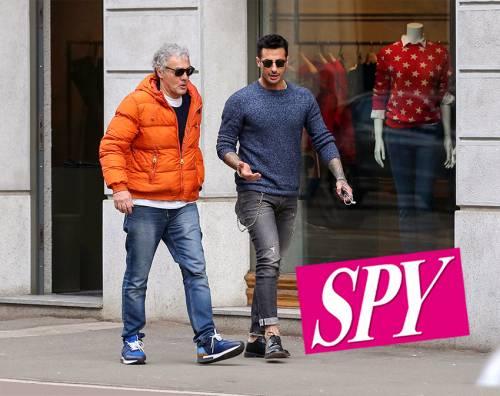 """Fabrizio Corona e Massimo Giletti insieme a Milano. Spy: """"In arrivo un programma insieme?"""""""