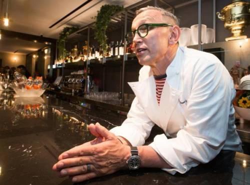 """Bruno Barbieri: """"Ho provato la pizza di Cracco, la foto non rende"""""""