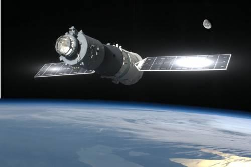 La stazione spaziale cinese Tiangong potrebbe precipitare sulla Terra a Pasqua