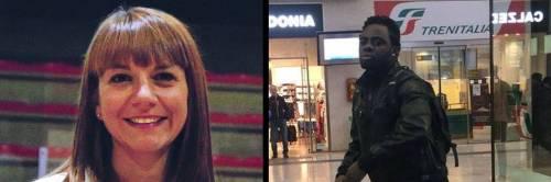 A sinistra, la deputata leghista Silvia Covolo; a destra il presunto aggressore (foto Massimo Bitonci)