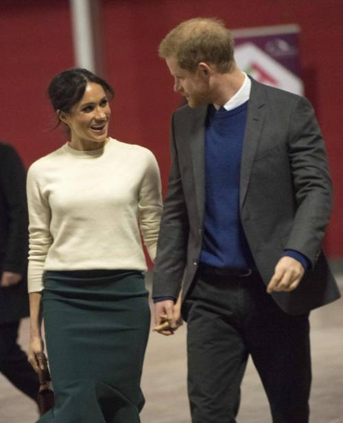 Meghan Markle e il Principe Harry pronti alle nozze 4