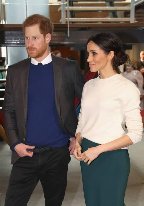 Meghan Markle e il Principe Harry pronti alle nozze 6