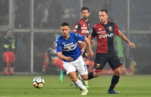 Sampdoria e Genoa si dividono la posta in palio: termina 0-0 il derby della Lanterna