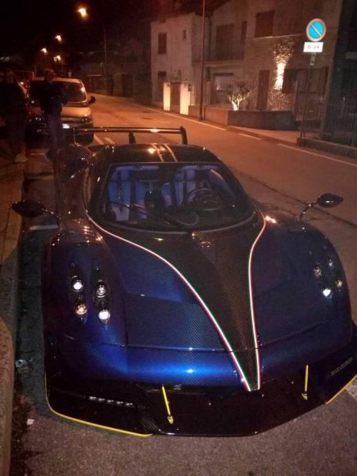 bergamo, steven zhang sfoggia la super car da due milioni di euro