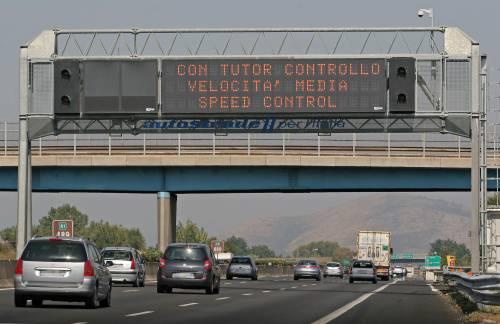 Autostrade, riattivati i Tutor su 87 tratte: ecco quali sono