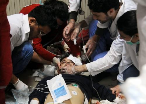 """L'Oms: """"500 pazienti di Douma intossicati da agenti chimici tossici"""""""