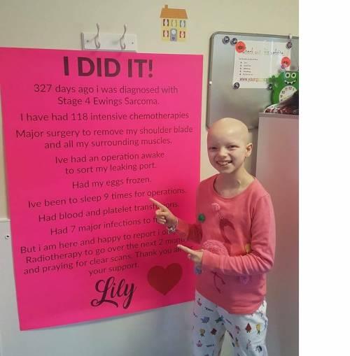 Lily Douglas, la ballerina che neanche il cancro riesce a fermare