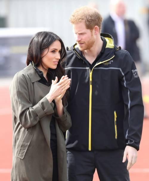 Meghan Markle con il Principe Harry agli Invictus Games 4