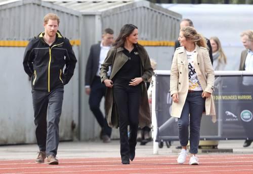 Meghan Markle con il Principe Harry agli Invictus Games 11
