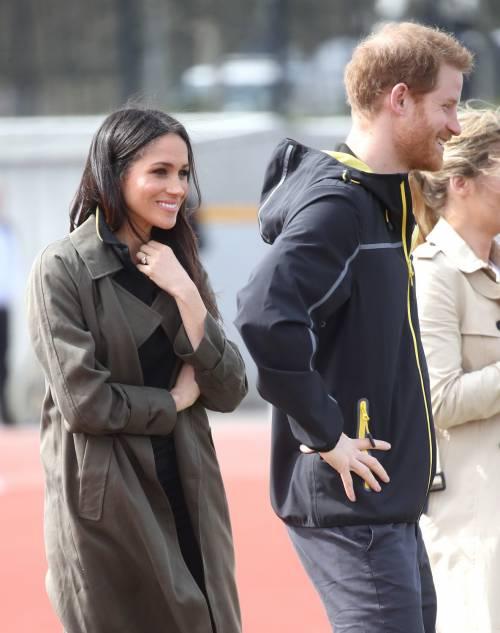 Meghan Markle con il Principe Harry agli Invictus Games 14