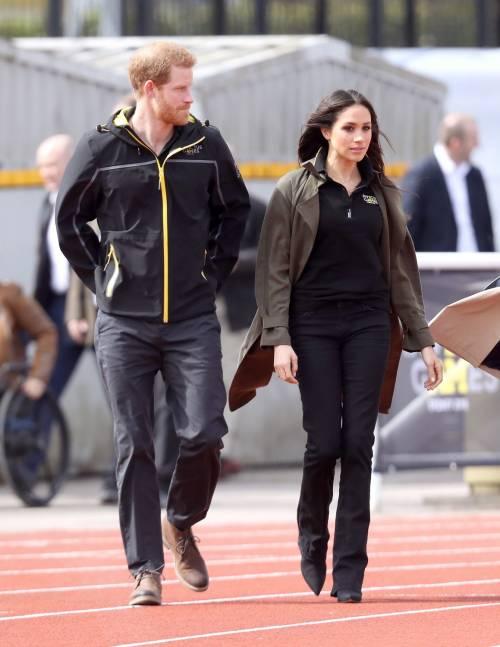 Meghan Markle con il Principe Harry agli Invictus Games 16