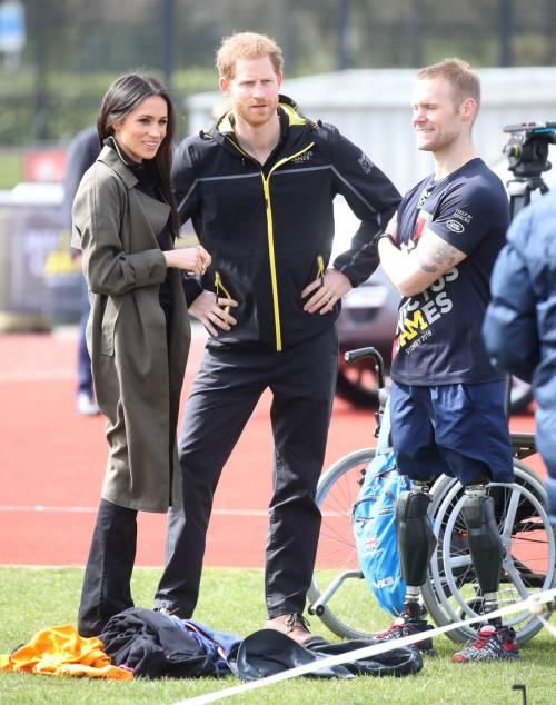 Meghan Markle con il Principe Harry agli Invictus Games 17