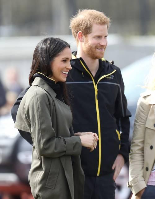Meghan Markle con il Principe Harry agli Invictus Games 18