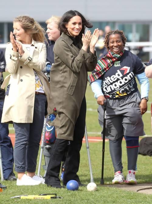 Meghan Markle con il Principe Harry agli Invictus Games 20