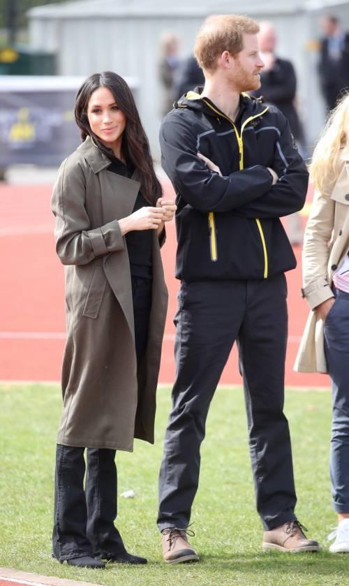 Meghan Markle con il Principe Harry agli Invictus Games 2