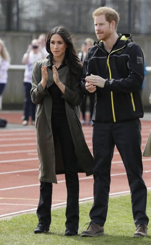 Meghan Markle con il Principe Harry agli Invictus Games 5