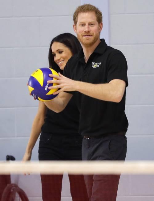 Meghan Markle con il Principe Harry agli Invictus Games 6