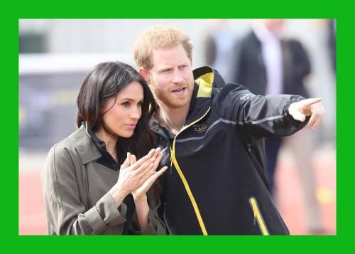 Meghan Markle con il Principe Harry agli Invictus Games 7