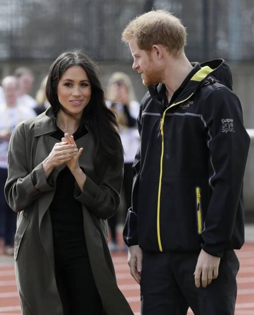 Meghan Markle con il Principe Harry agli Invictus Games 10