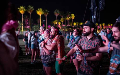 Coachella 2018, i look più sexy 10