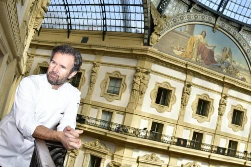 """Cracco: """"Vi racconto la mia sfida in Galleria"""""""