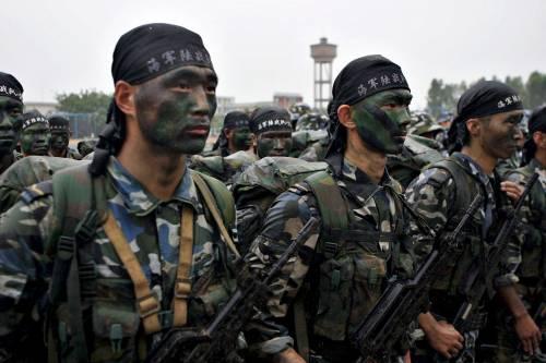Un'esercitazione militare della Cina manda un messaggio di guerra a Trump